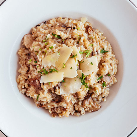 Mushroom Risotto from Pizza Express Cyprus