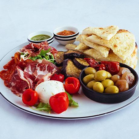 Classic Antipasto from Pizza Express Cyprus
