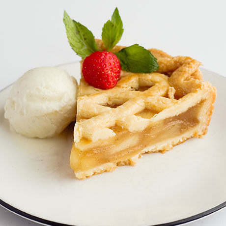 Apple Pie from Pizza Express Cyprus