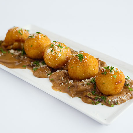 Arancini from Pizza Express Cyprus