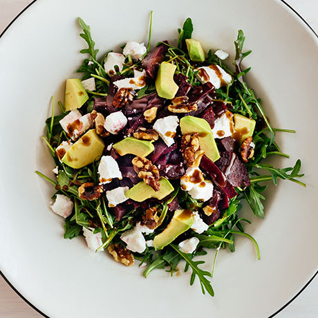 Beet & Goat's Cheese salad from Pizza Express Cyprus