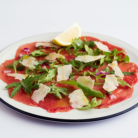 Beef Carpaccio from Pizza Express Cyprus
