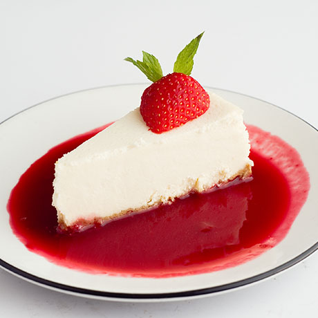 Cheesecake from Pizza Express Cyprus