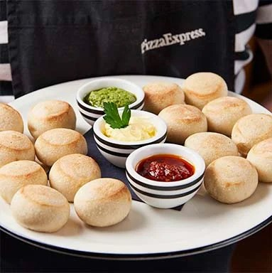 Dough balls doppio from Pizza Express Cyprus