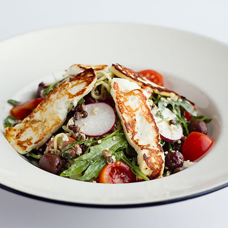 Halloumi & Zucchini salad from Pizza Express Cyprus