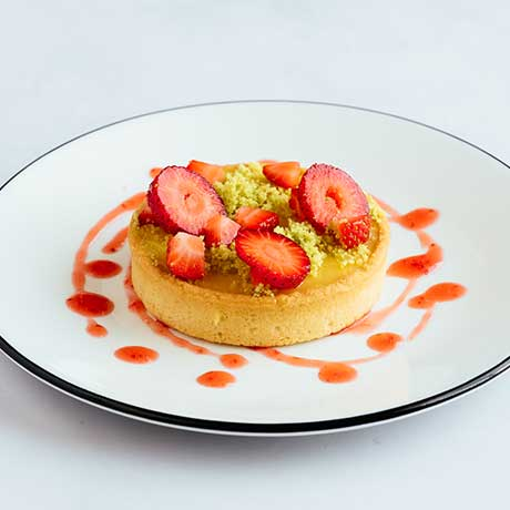 Key Lime Pie from Pizza Express Cyprus