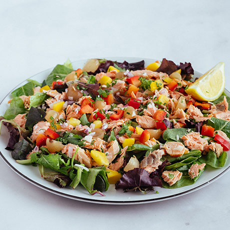 Leggera Salmon salad from Pizza Express Cyprus