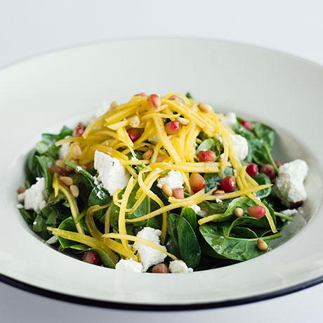 Spinach & Goat's Cheese salad from Pizza Express Cyprus