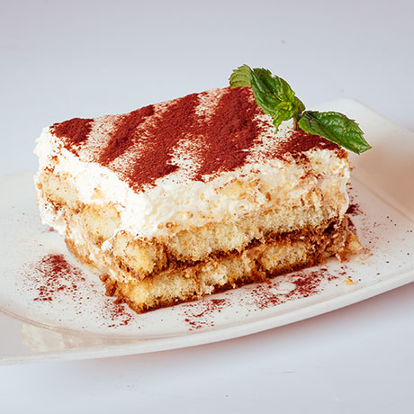 Tiramisu from Pizza Express Cyprus
