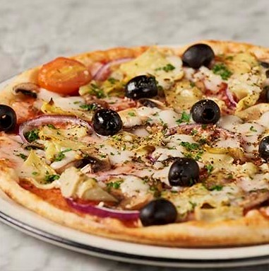 Giardiniera classic pizza from Pizza Express Cyprus