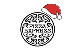 Pizza Express Xmas Logo