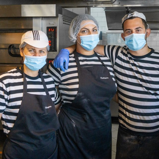 Our fun family work around the clock to bring you all your PizzaExpress favourites! A smile comes at no extra cost, even with a mask on. 🙂  #PizzaExpressCyprus #GreatTimes