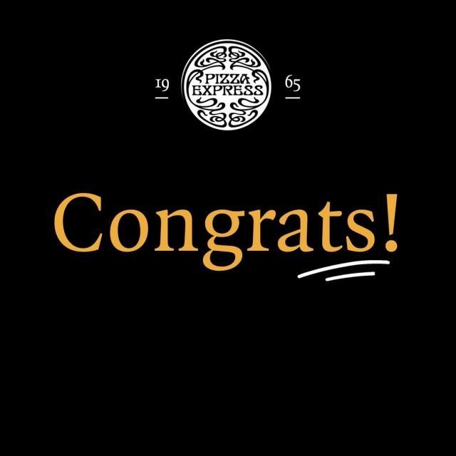 ..Aaaand the winners are: - Oriana (Classico) - Katarzyna (Speciale) - Christina (Famiglia) You answered correctly AND followed us - so that's dinner sorted! 🤩 Thanks to everyone for taking part!  #PizzaExpressDay