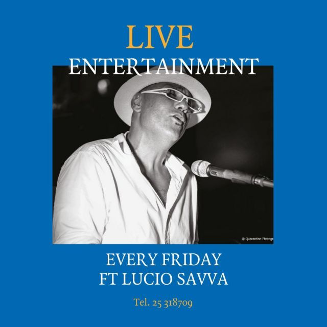Pizza Express Live nights are back in Limassol. Every Friday night, enjoy live music by Lucio Savva over your favourite slice. Call us on 25318709 to reserve your table.  *Pizza Express Limassol only #PizzaExpressCyprus #LIve #LiveMusic #PizzaExpressLive