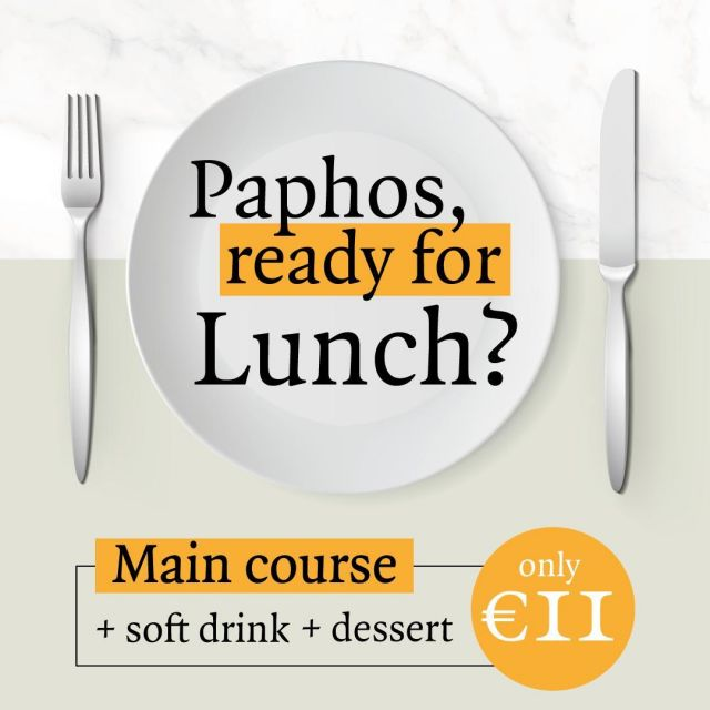 In Paphos and longing for a lunch break? Treat yourself to our Lunch Special*, tuck into your fave flaves and reenergize in style. 🤩🤩 *Exclusive Dine-in offer for selected mains only at Pizza Express Paphos ------  #PizzaExpressCY #ColumbiaRestaurants #Paphos #Cyprus