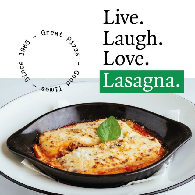If you haven't found you're fave lasagna hot spot yet, that's probably because you haven't tried ours yet. Made with flavour-packed Bolognese sauce and topped with Grana Padano cheese, we're pretty sure it'll be your next gamechanger!  #PizzaExpressCY #ColumbiaRestaurants #Limassol #Paphos #Cyprus