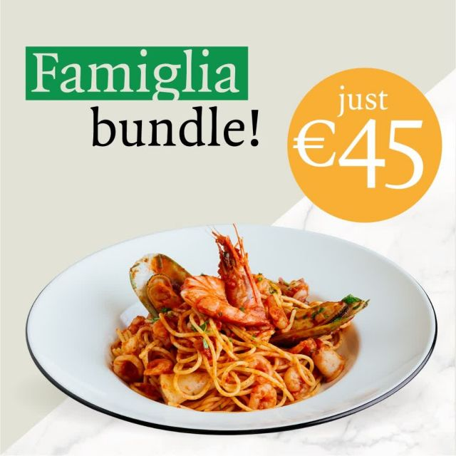 If you want to be everyone's favorite coworker this week, treat the team to our  Special Delivery Famiglia bundle. Get any 2 Classic pizzas, 2 pastas, 1 salad, and garlic bread or dough balls for just €45. Ditch the deadlines for a bit. It's time for a pizza party! ------ #PizzaExpressCY #ColumbiaRestaurants #Limassol #Paphos #Cyprus